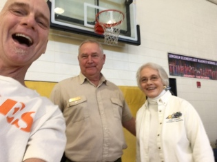 Timmy is in Albany, GA with Chuck Norvell and Judy Bowles