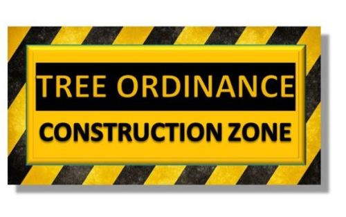 Tree Ordinance Construction Zone