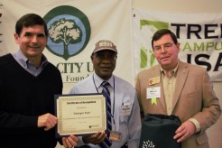 Georgia Tech Tree Campus USA 2018 with Chuck Williams